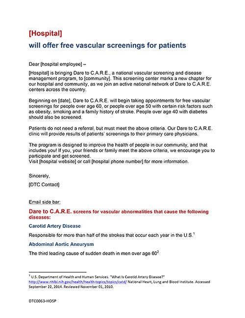 Microsoft Word - 1d Coming Soon Emails 3 [Internal Hospital Enga