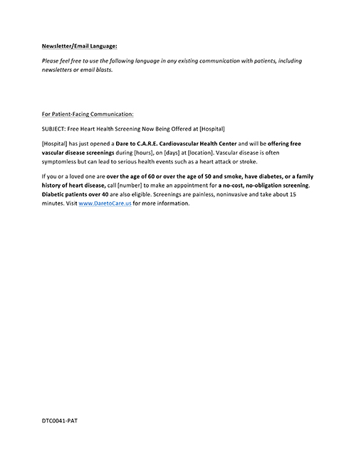 Microsoft Word - 2a Newsletter or Email Language PATIENT.docx